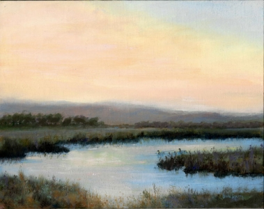 Sonoma Valley Landscape Oil Painting