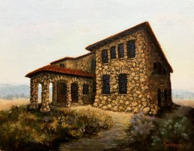 Sonoma Oil Painting