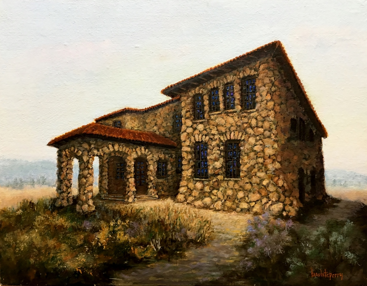 Sonoma Oil Painting