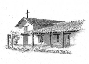 Sonoma Mission Drawing